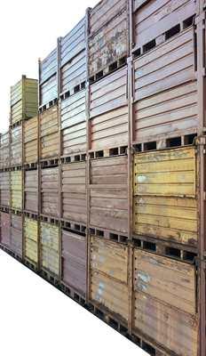 Contenitori metallici industriali