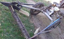 Motofalciatrice Bcs a 3 ruote usata