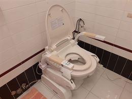 Sollevatore WC per anziani o disabili PIUMA con Bidet