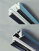Binario elettrificato Eurobq 230V 16A,l= 3 m, nero, nuovo