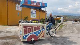 Gnam bike gelati, granite,crepes, hot dog, bibite