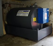 Contenitore-Distributore gasolio 3.117 litri