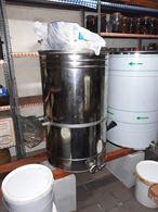 Maturatori inox per miele n.1 kg 300 - n.1 kg 400