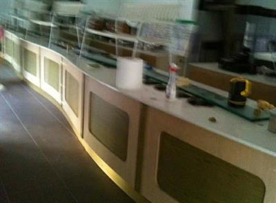 Bancone per gelateria