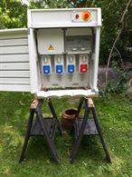 Quadro elettrico di cantiere edile GEWISS IP5 380 volts 32 A